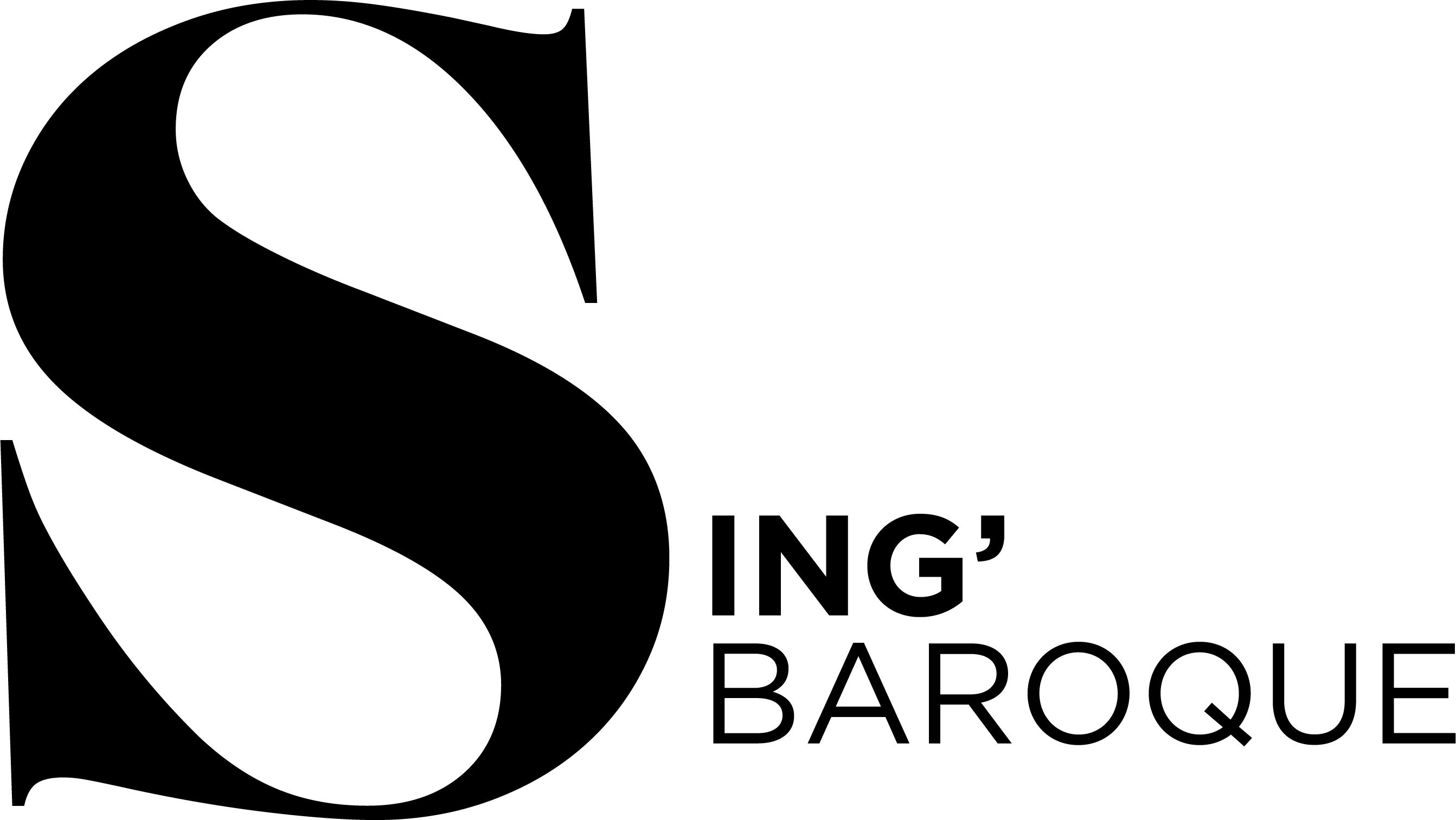 Sing Baroque Logo High Resolution